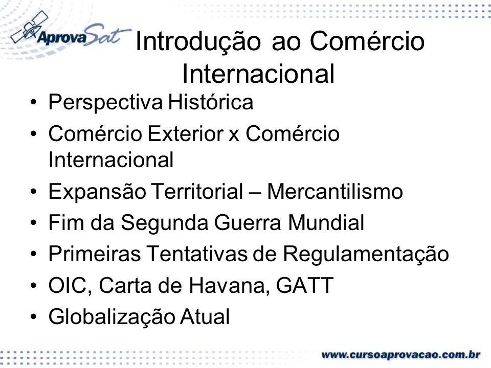 Introdução ao Comércio Internacional