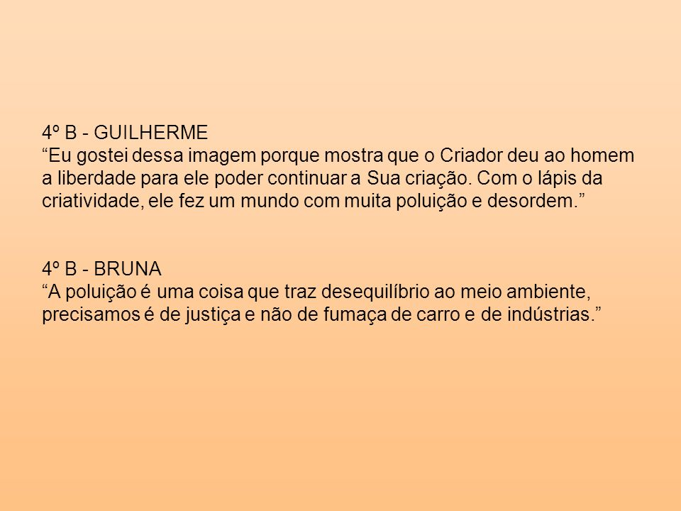 4º B - GUILHERME