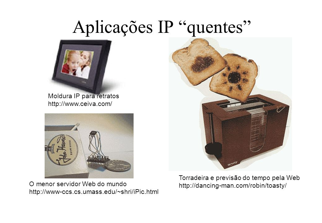 Aplicações IP quentes