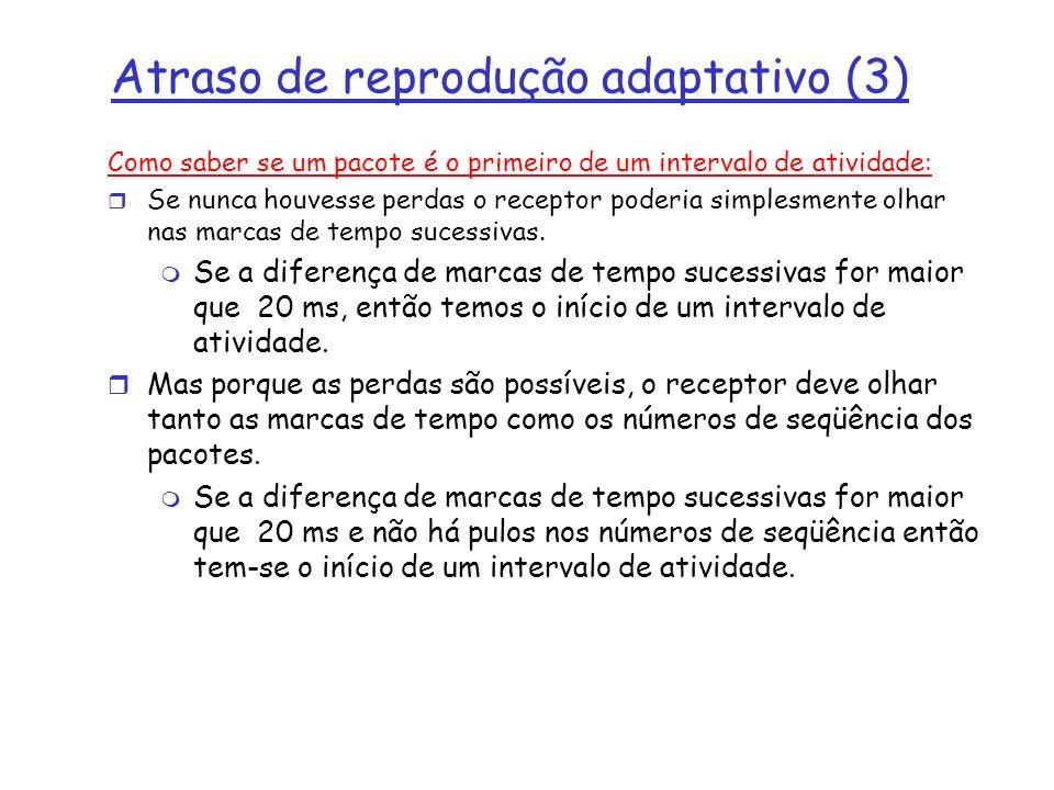 Atraso de reprodução adaptativo (3)