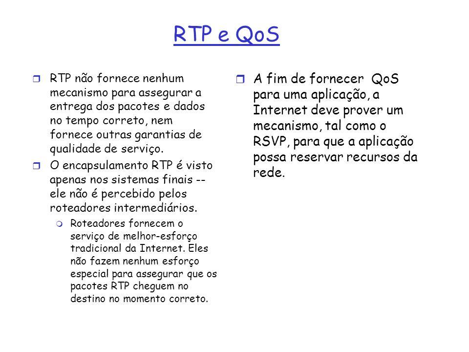 RTP e QoS