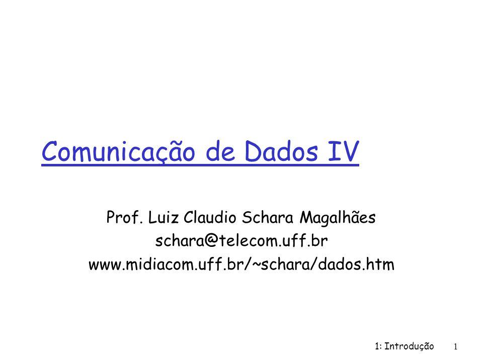 Comunicação de Dados IV