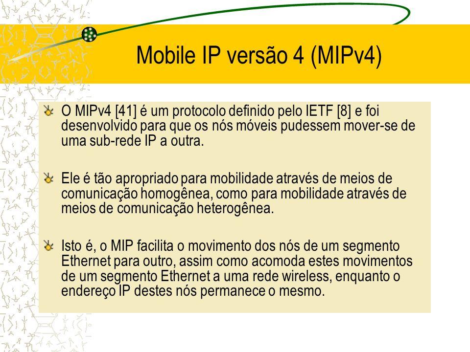 Mobile IP versão 4 (MIPv4)