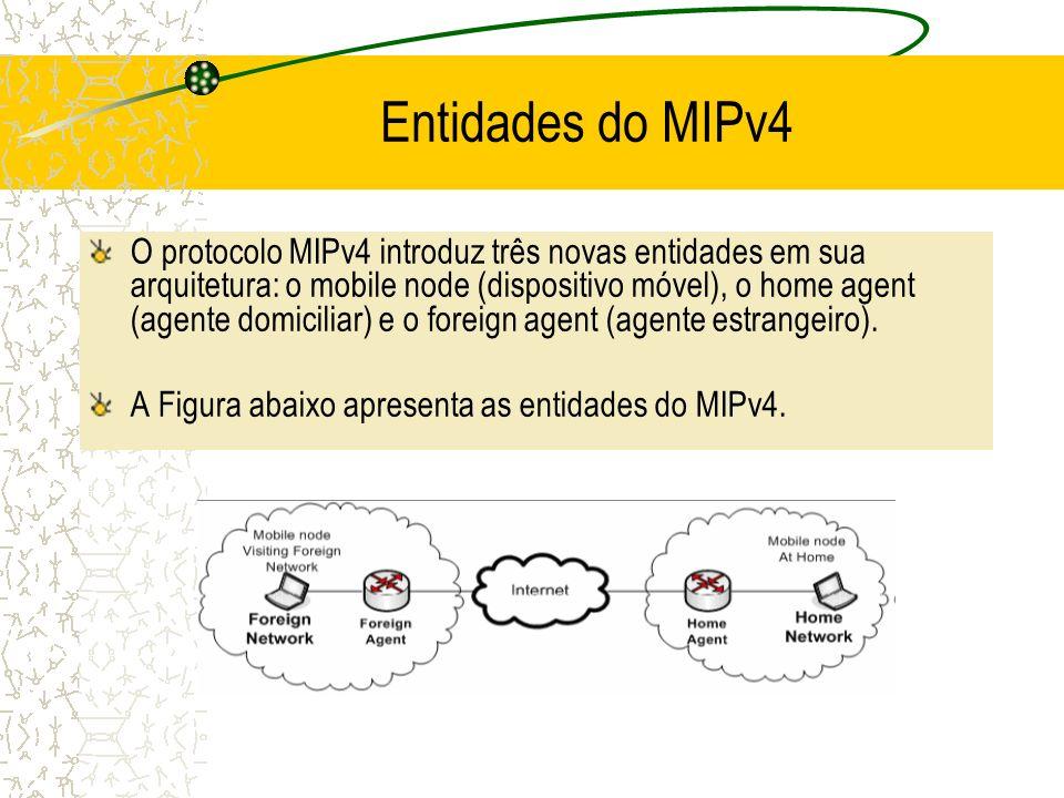 Entidades do MIPv4