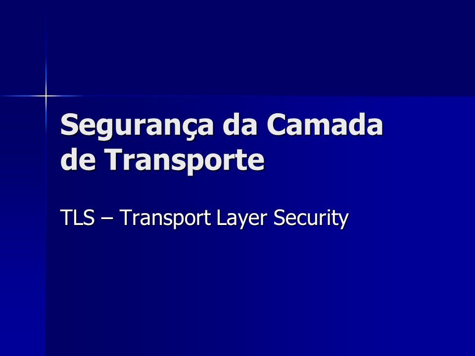 Segurança da Camada de Transporte