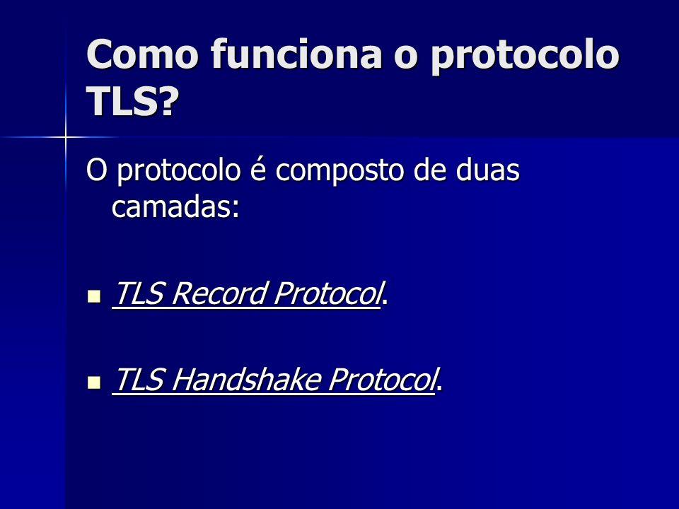 Como funciona o protocolo TLS