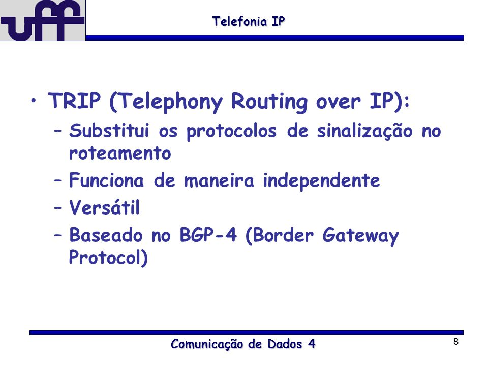 TRIP (Telephony Routing over IP):
