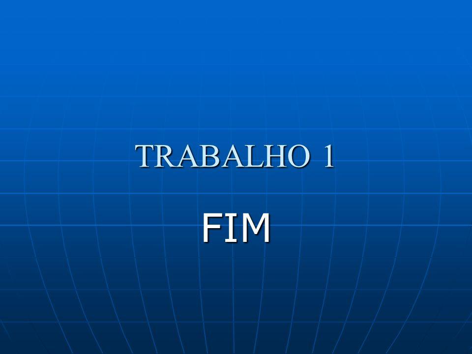 TRABALHO 1 FIM