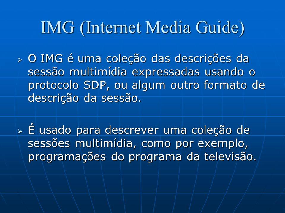 IMG (Internet Media Guide)