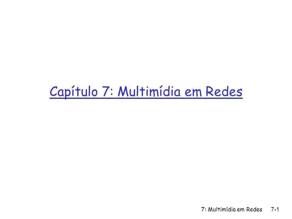 Capítulo 7: Multimídia em Redes