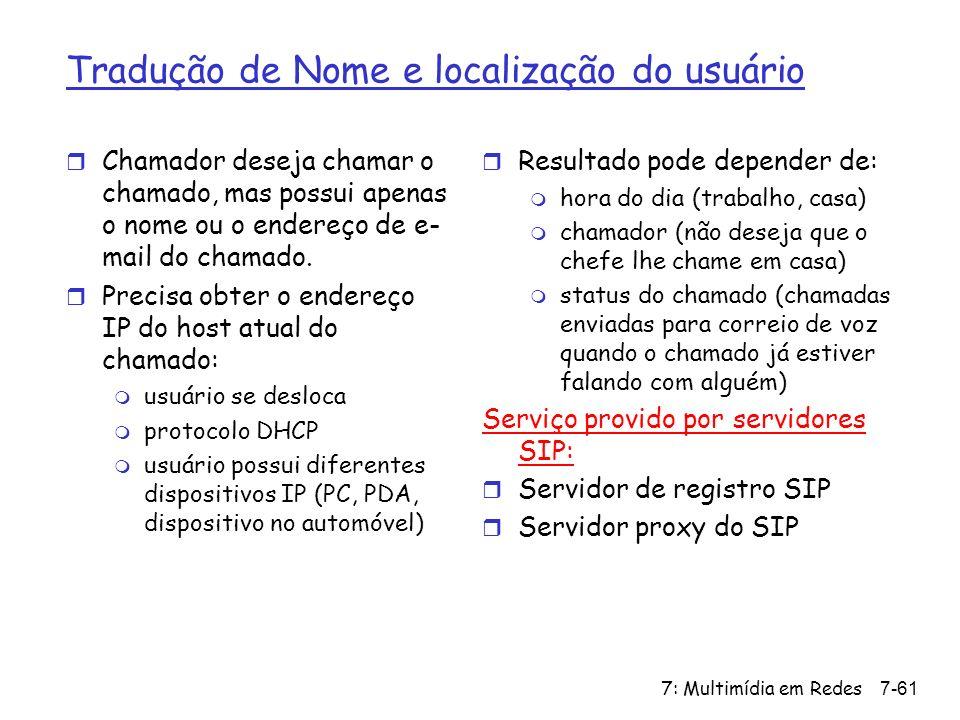 Tradução de Nome e localização do usuário