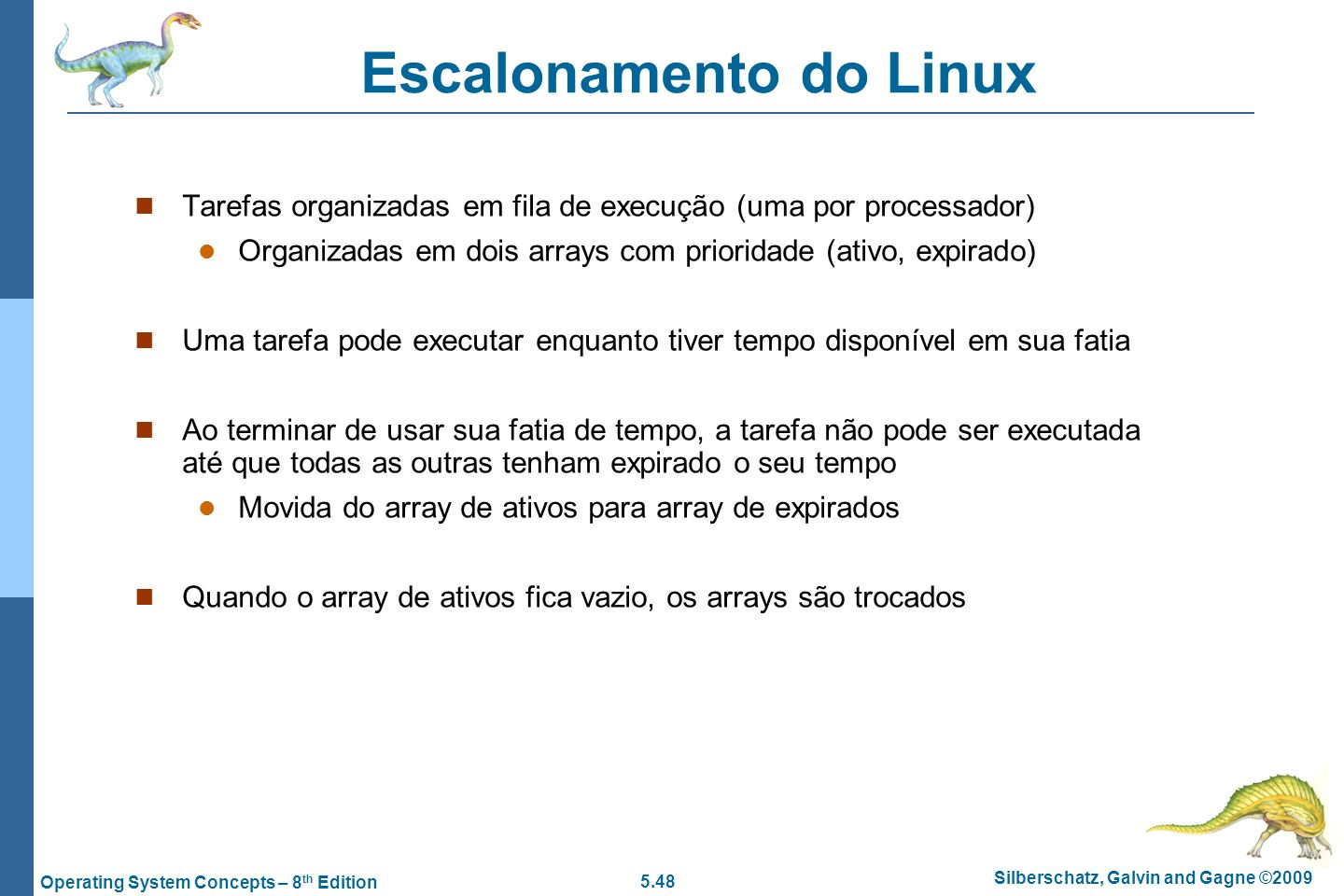 Escalonamento do Linux