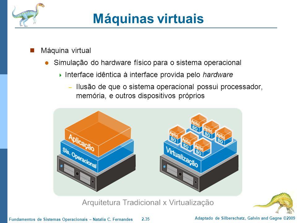 Máquinas virtuais Máquina virtual