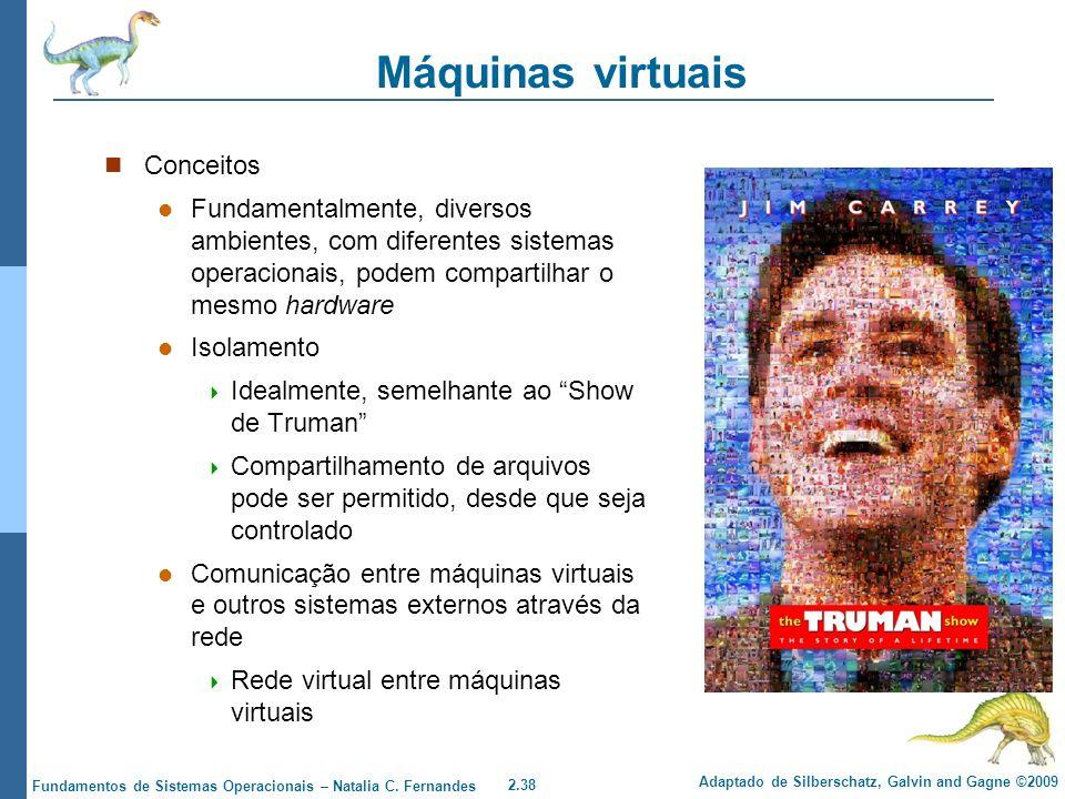 Máquinas virtuais Conceitos