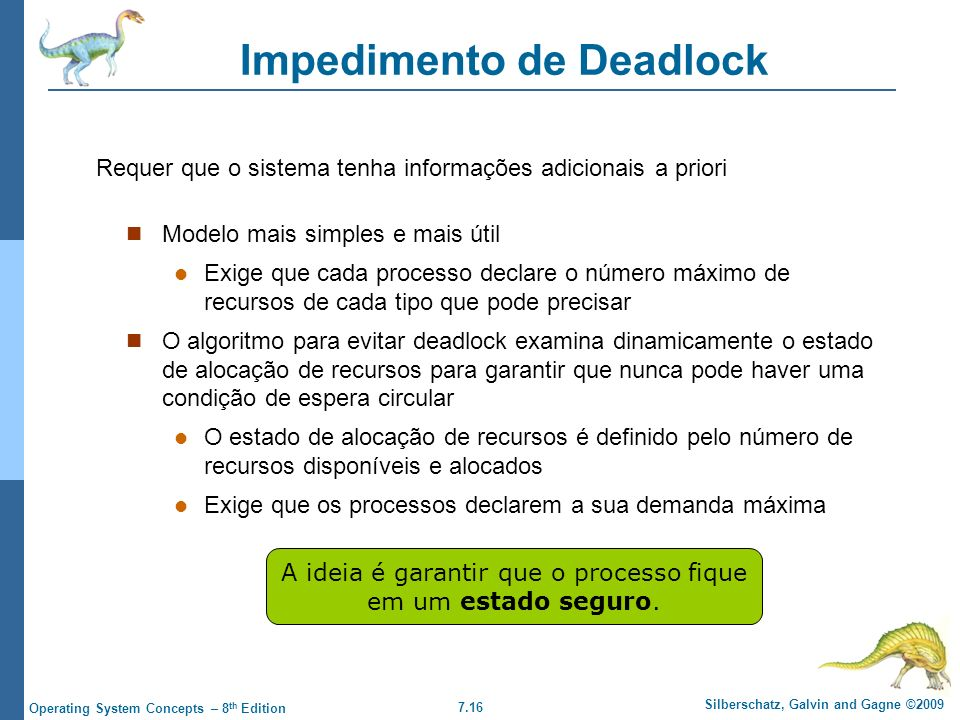 Impedimento de Deadlock