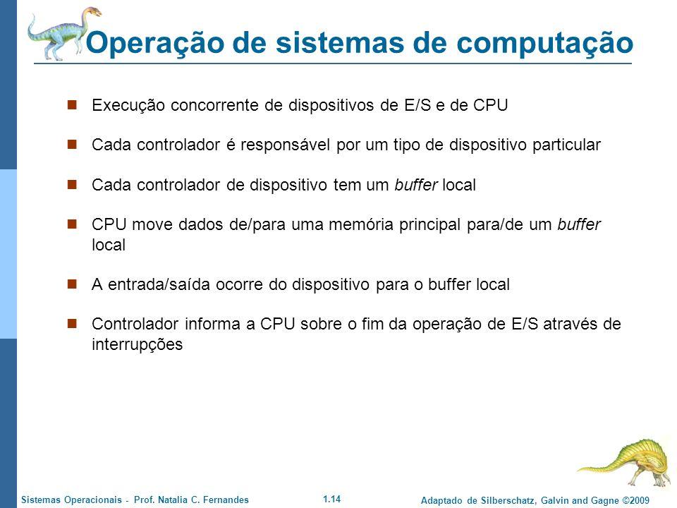Operação de sistemas de computação