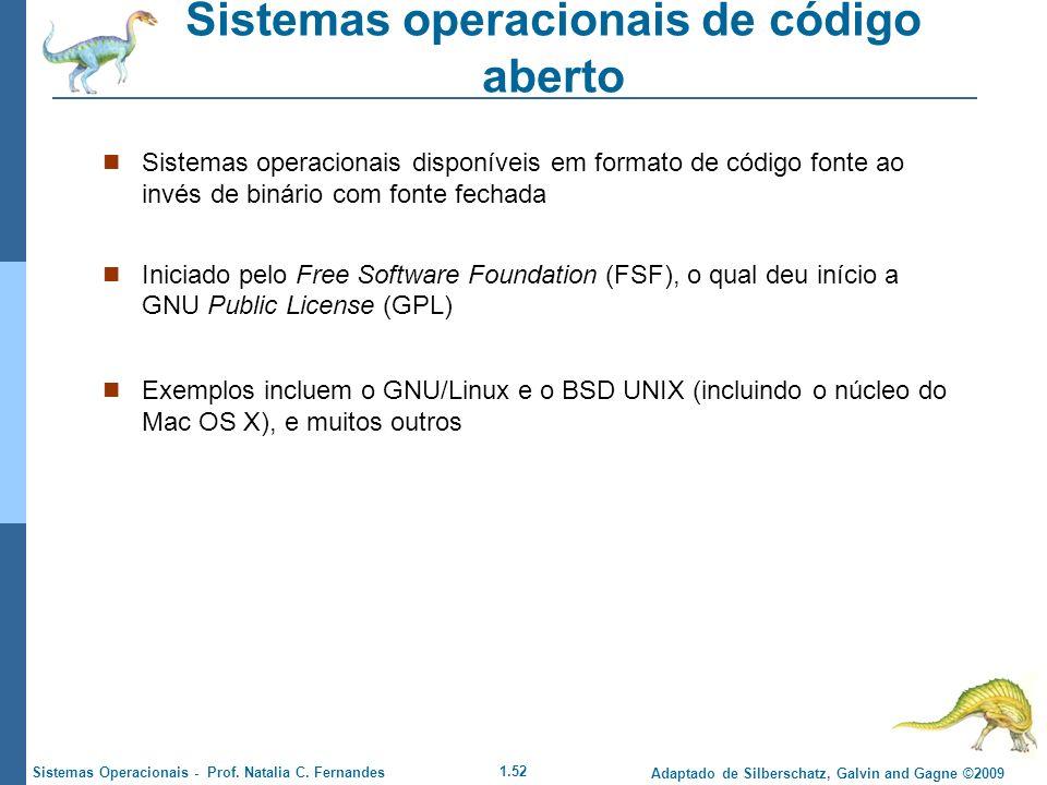 Sistemas operacionais de código aberto