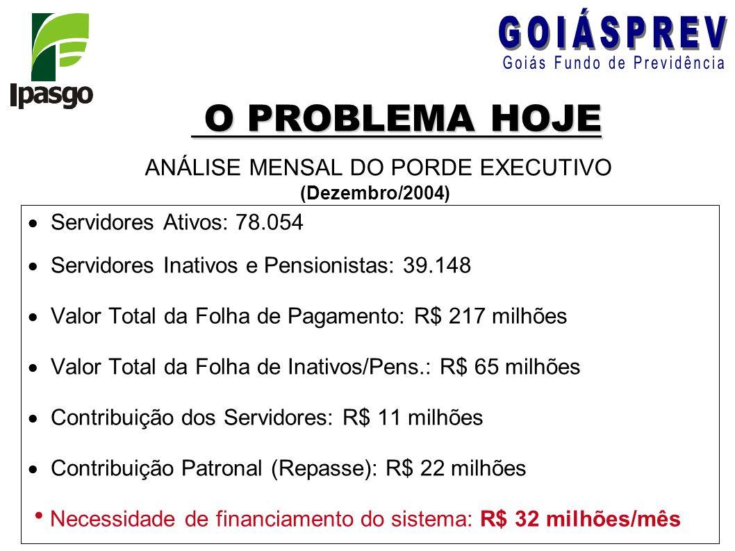 ANÁLISE MENSAL DO PORDE EXECUTIVO (Dezembro/2004)