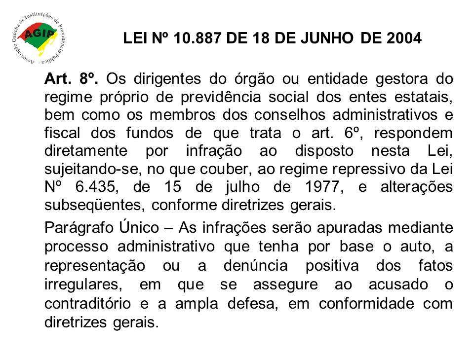 LEI Nº 10.887 DE 18 DE JUNHO DE 2004