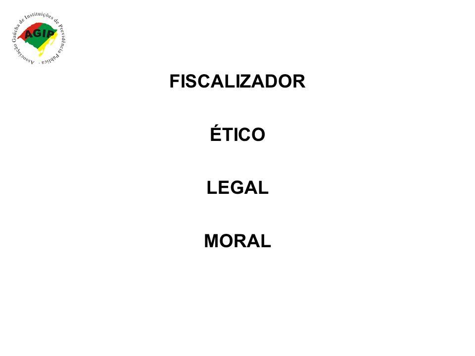 FISCALIZADOR ÉTICO LEGAL MORAL