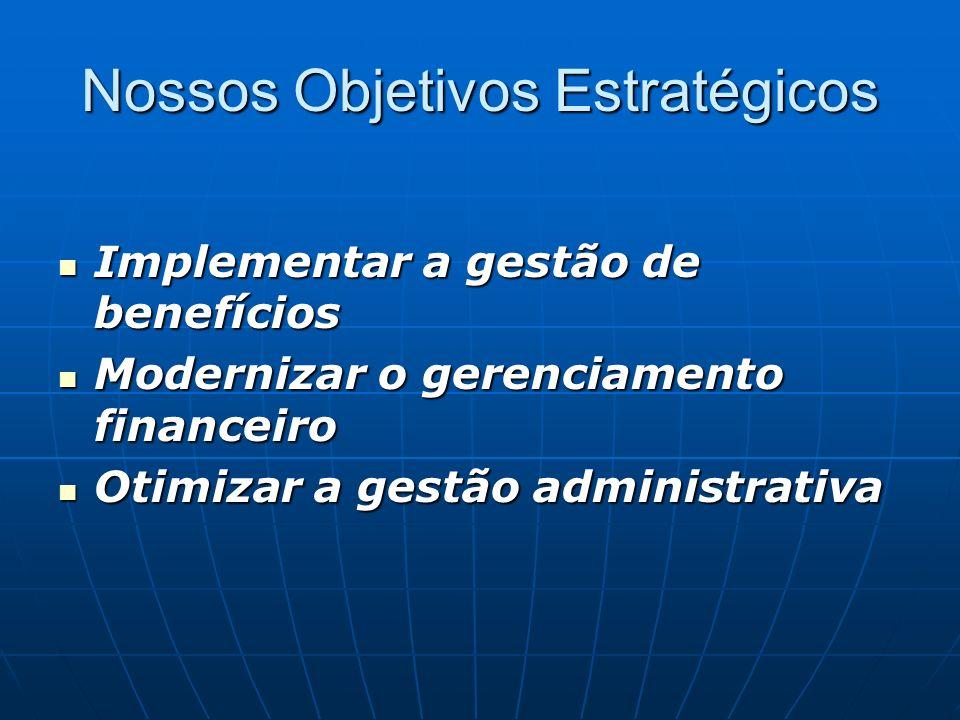 Nossos Objetivos Estratégicos