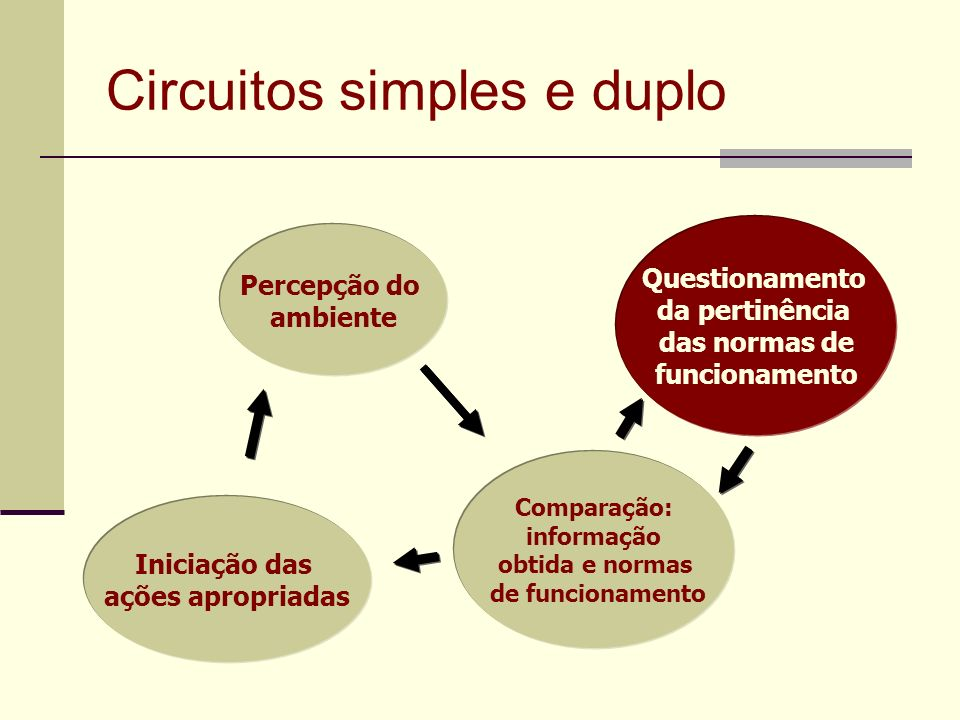 Circuitos simples e duplo