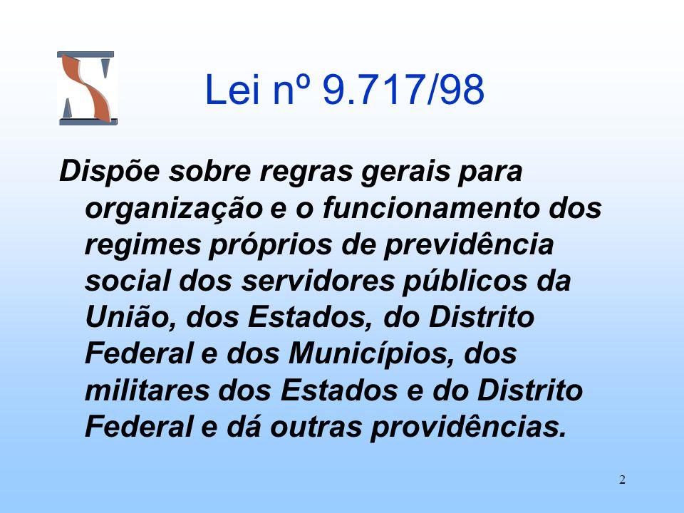 Lei nº 9.717/98