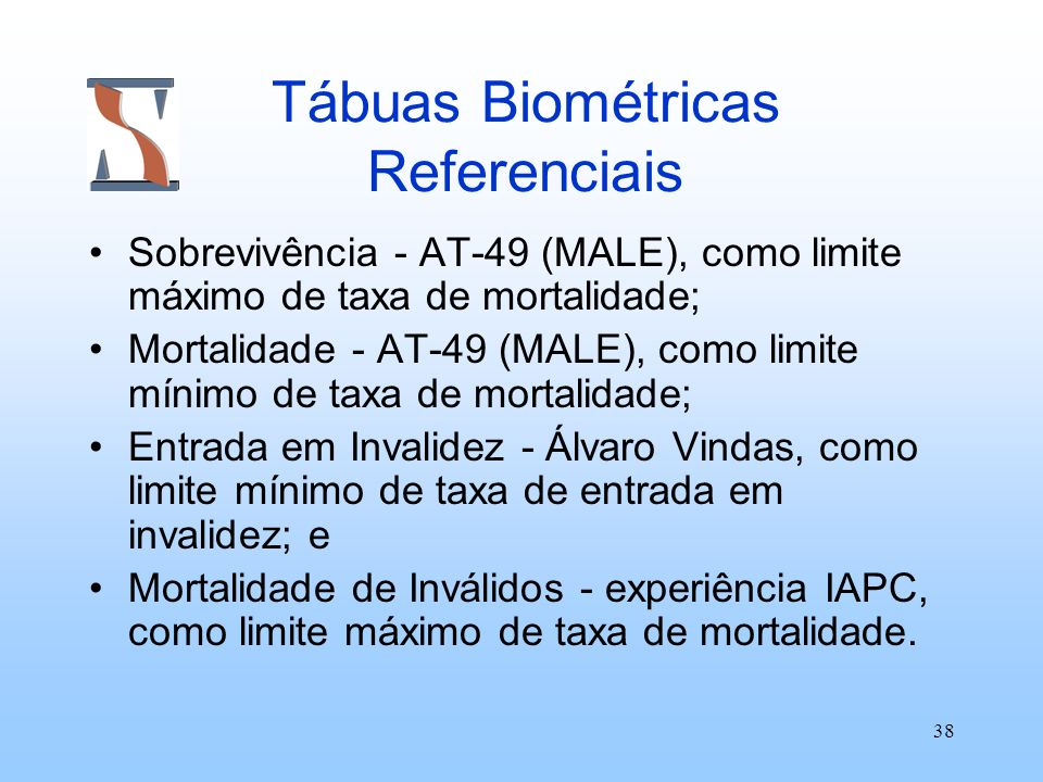 Tábuas Biométricas Referenciais