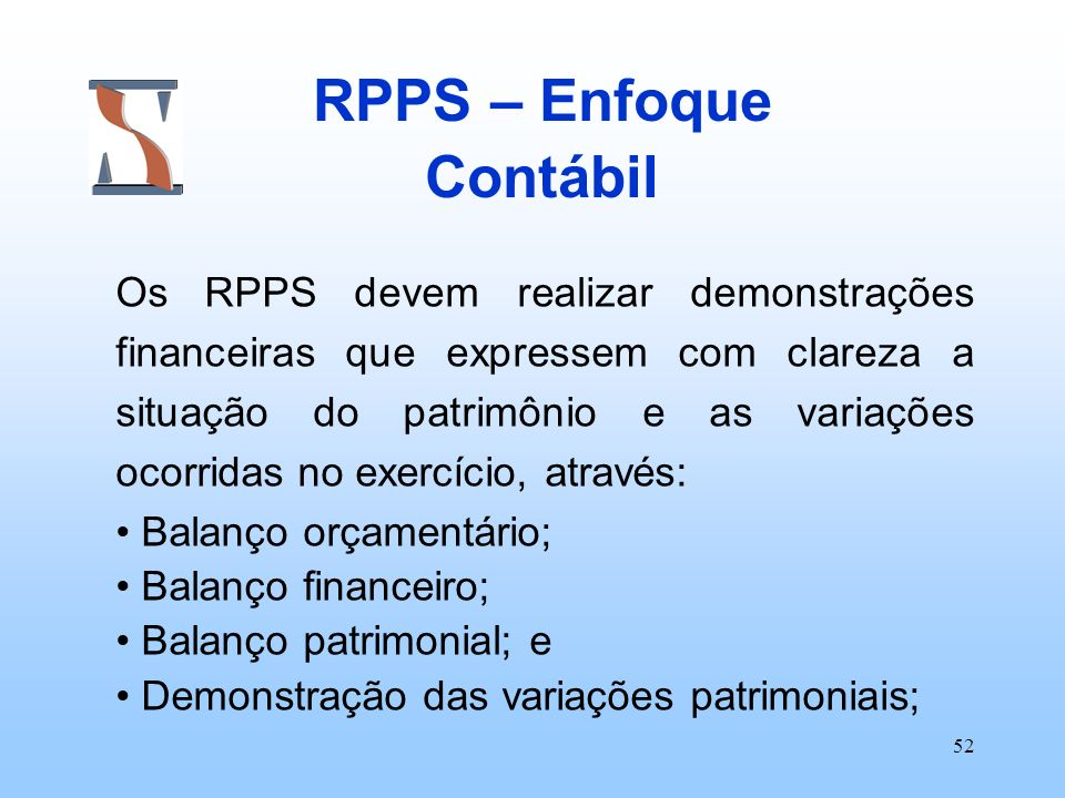 RPPS – Enfoque Contábil