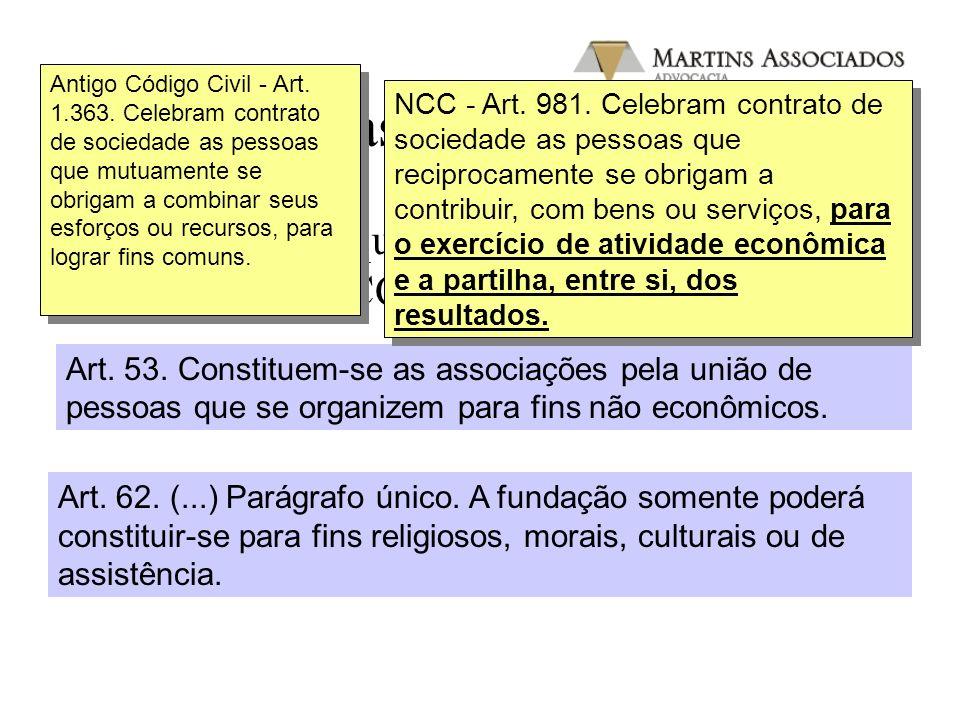 O NCC e as ONGs/OSCIPs III