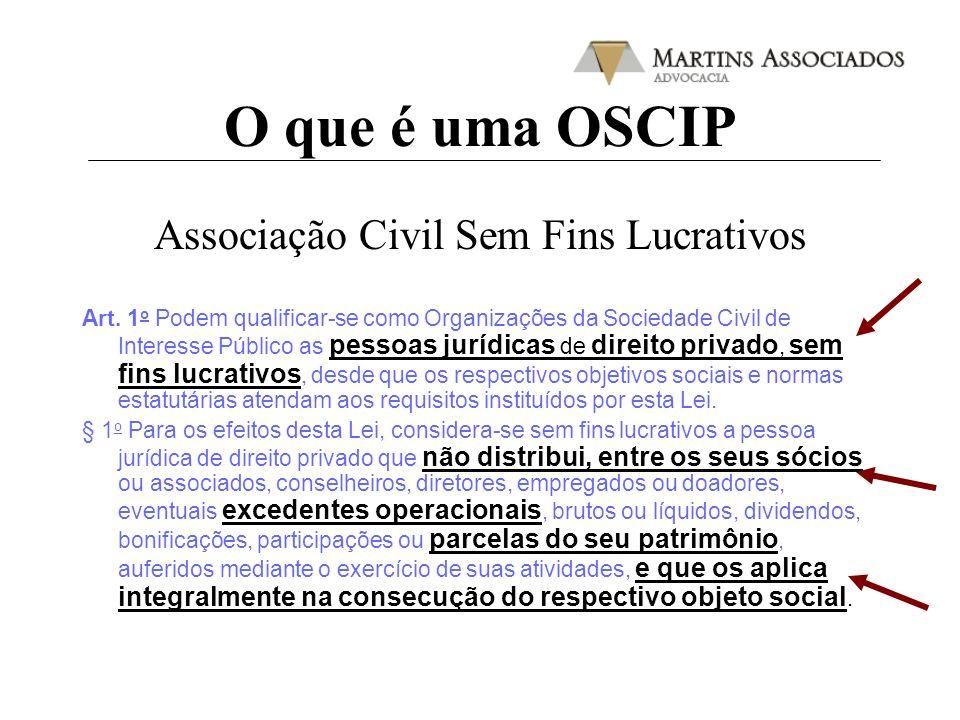 Associação Civil Sem Fins Lucrativos