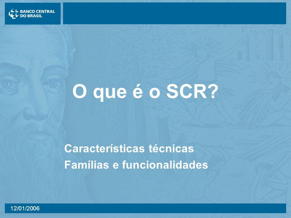 Características técnicas Famílias e funcionalidades
