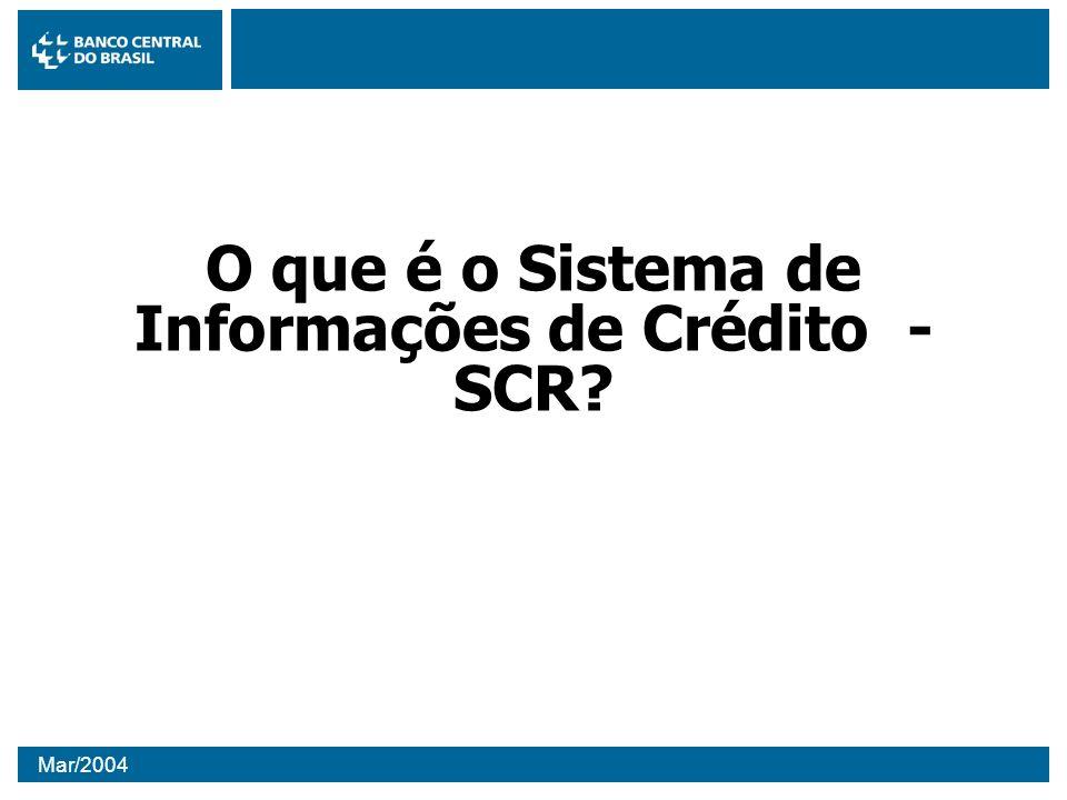 O que é o Sistema de Informações de Crédito - SCR