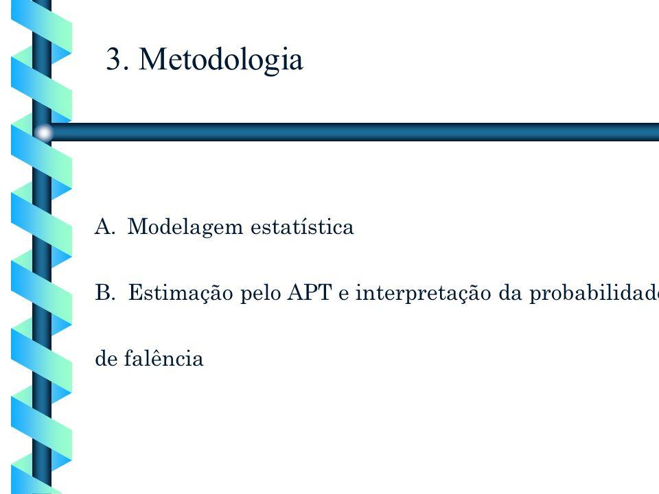 3. Metodologia Modelagem estatística