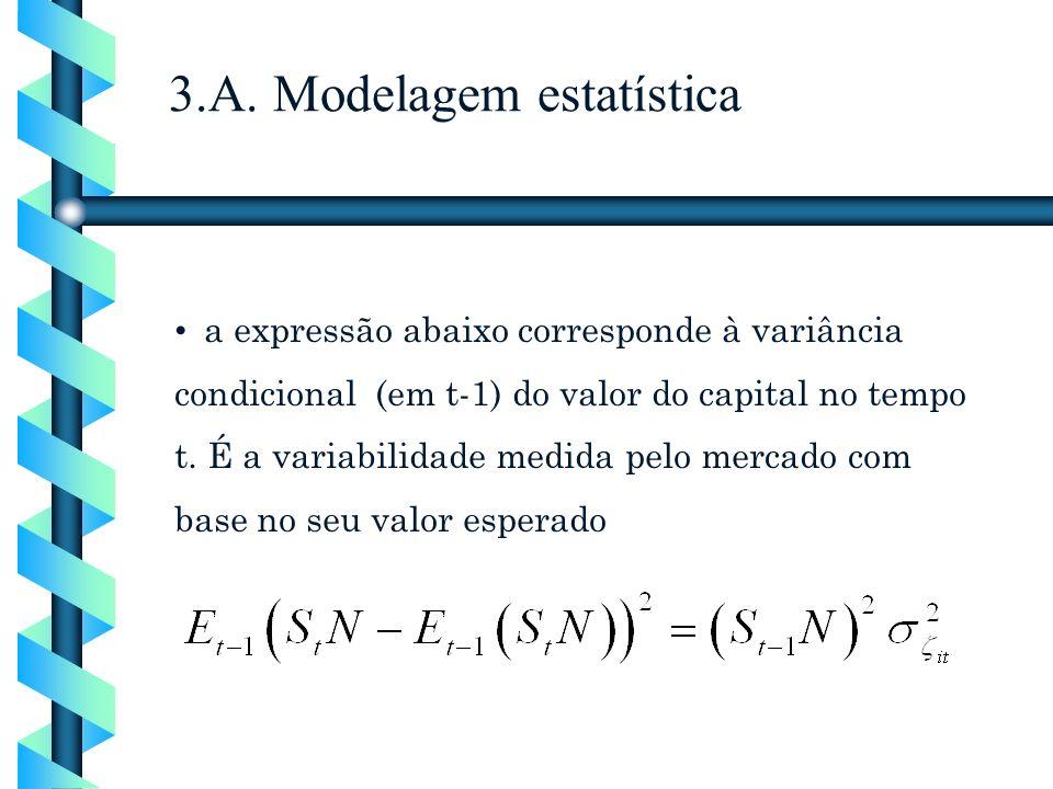 3.A. Modelagem estatística