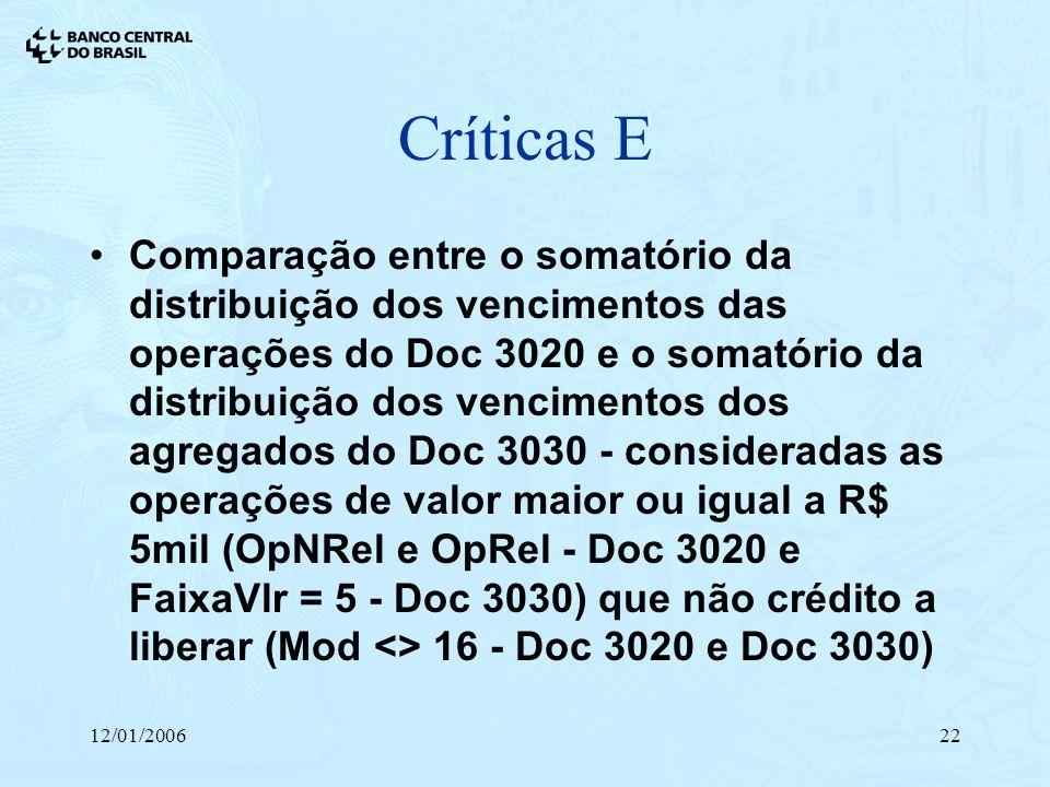 Críticas E