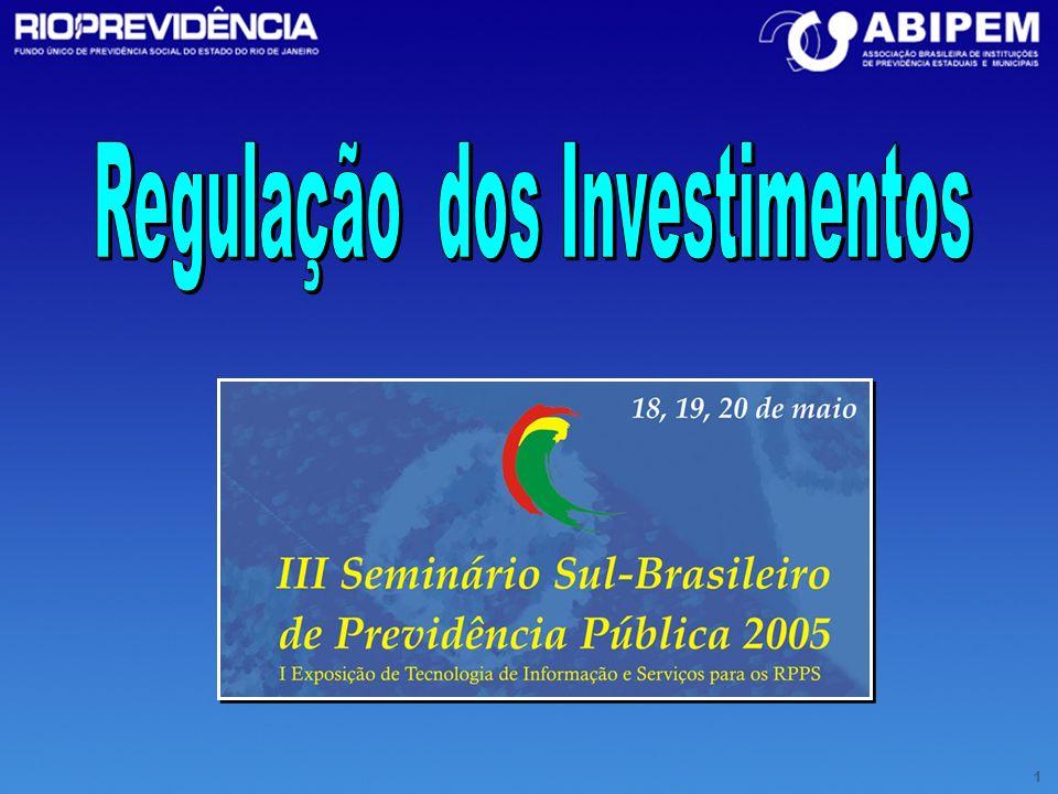 Regulação dos Investimentos