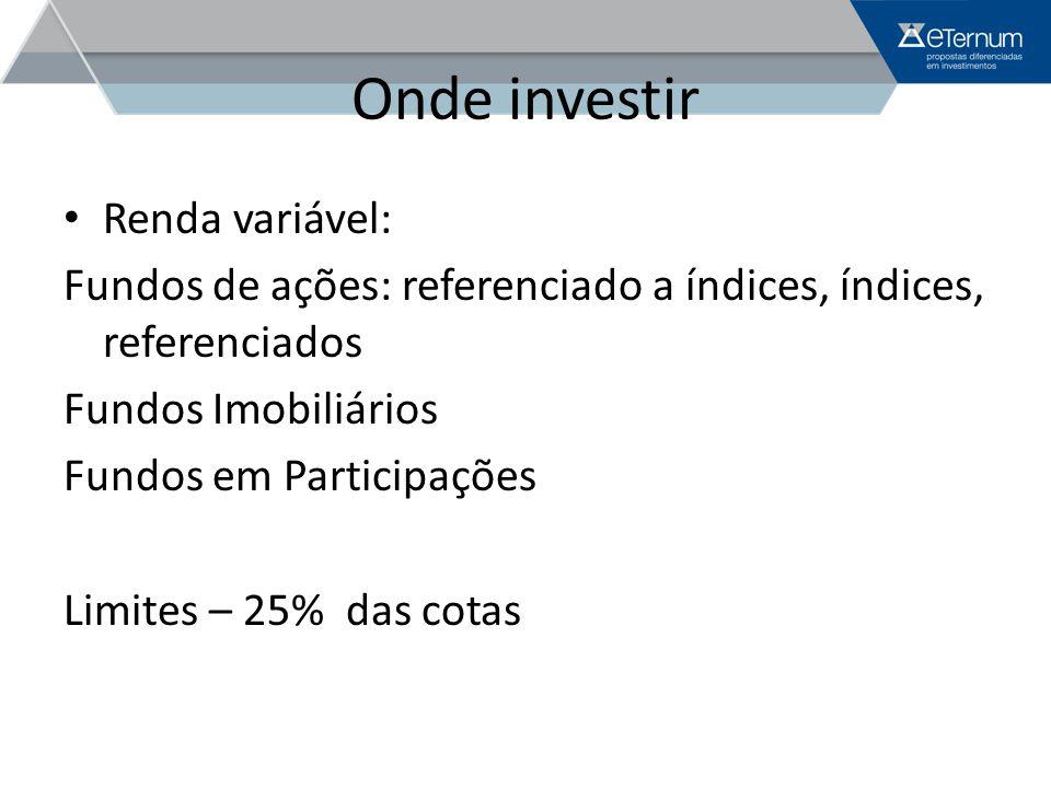Onde investir Renda variável: