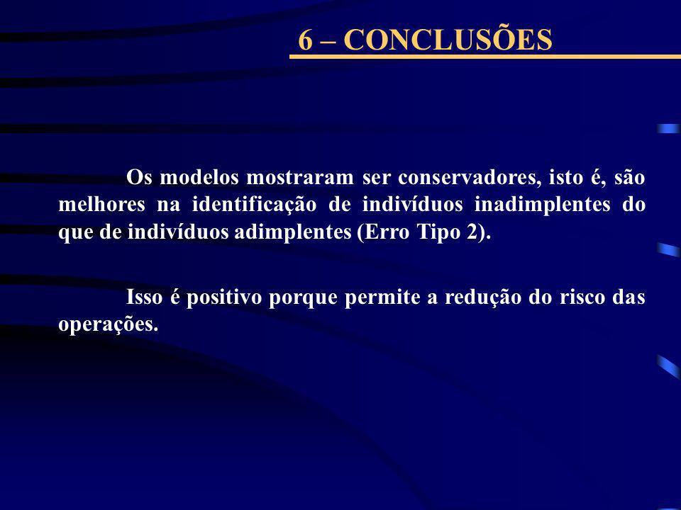 6 – CONCLUSÕES
