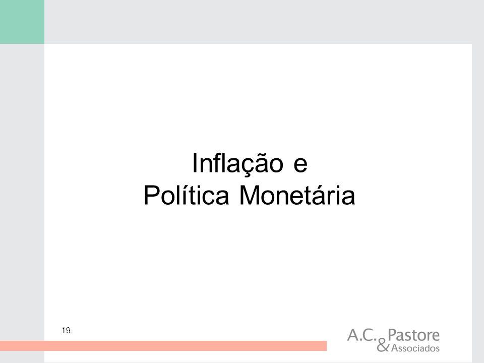 Inflação e Política Monetária