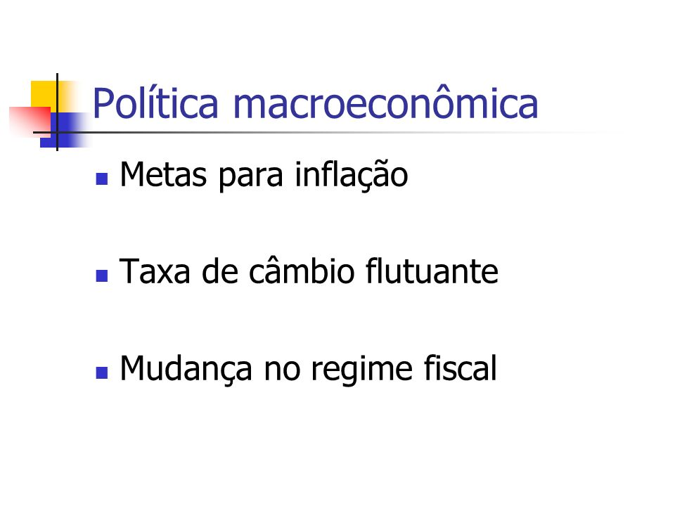 Política macroeconômica