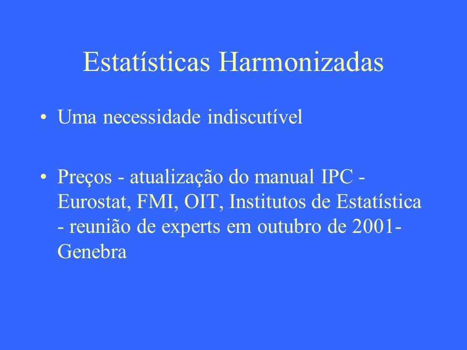 Estatísticas Harmonizadas