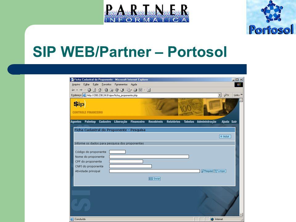 SIP WEB/Partner – Portosol