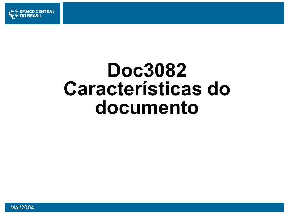 Doc3082 Características do documento