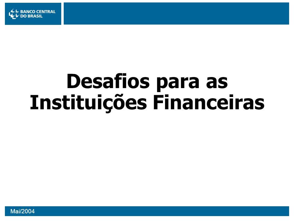 Desafios para as Instituições Financeiras