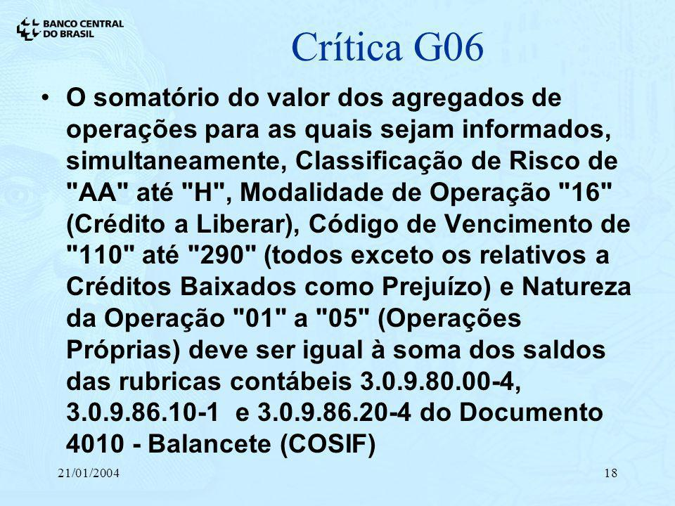 Crítica G06