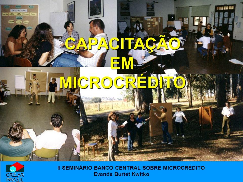 CAPACITAÇÃO EM MICROCRÉDITO