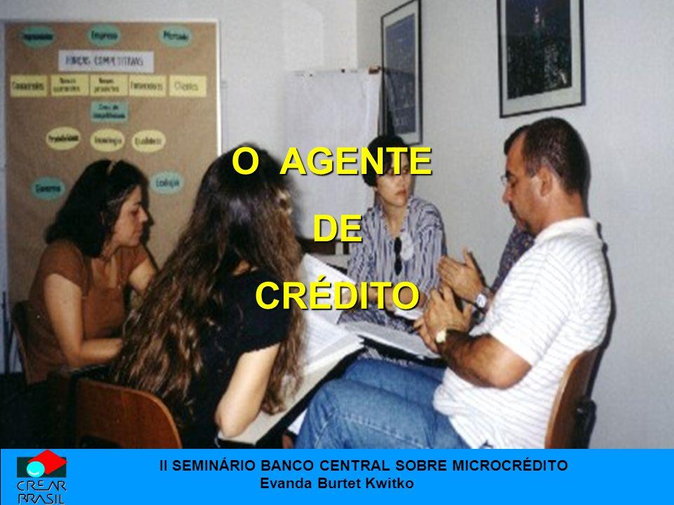 O AGENTE DE CRÉDITO