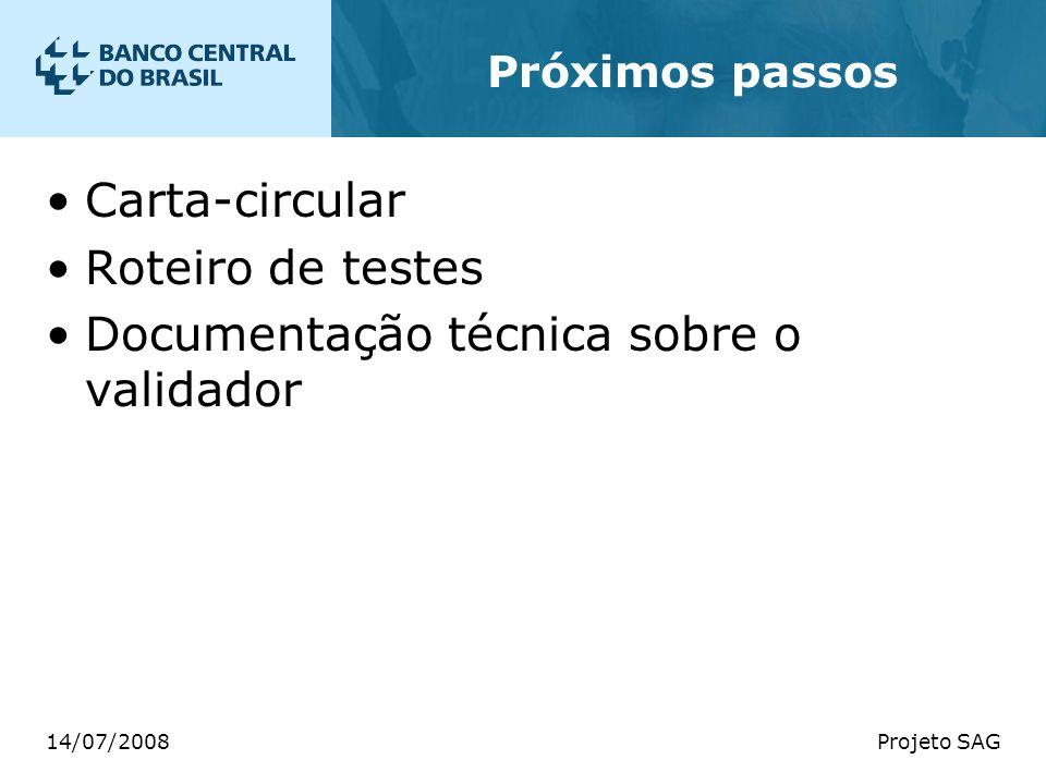 Documentação técnica sobre o validador
