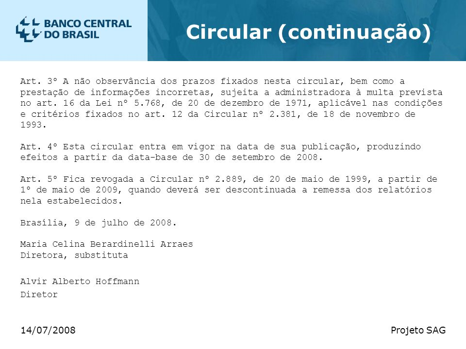 Circular (continuação)